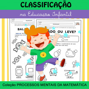 Classificação na Ed. Infantil