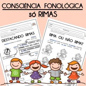 Consciência Fonológica - Só Rimas