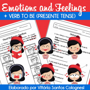 Emotions and Feelings + verb to BE