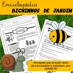 Enciclopédia Bichinhos de Jardim