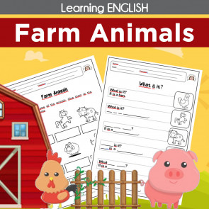 Learning English - FARM ANIMALS