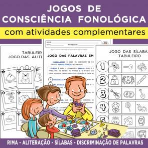 Jogos de CONSCIÊNCIA FONOLÓGICA