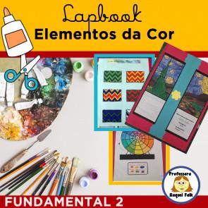 Lapbook ELEMENTOS DA COR