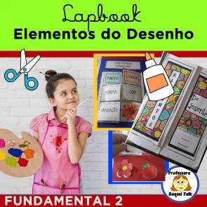 Lapbook ELEMENTOS DO DESENHO