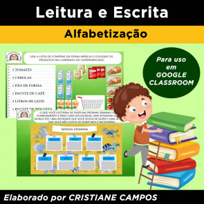 Leitura e Escrita para GOOGLE CLASSROOM