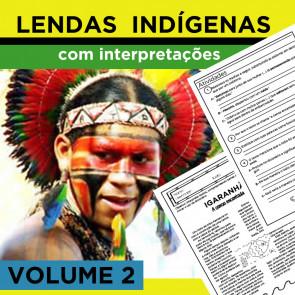 Lendas Indígenas com Interpretações - Volume 2