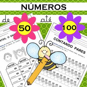 Números - 50 ao 100