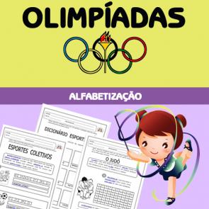 Olimpíadas - alfabetização