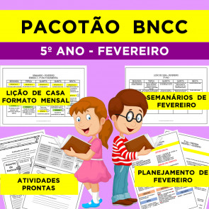 Pacotão BNCC - Fevereiro - 5º ano