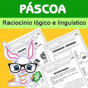 Páscoa - raciocínio lógico e linguístico