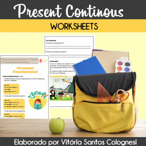 Present Continuous - worksheets