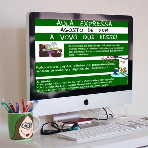 Revista Digital - Agosto de 2014 - A Vovó  que  disse!