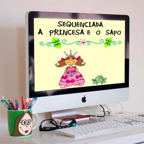 """Sequenciada """"A Princesa e o Sapo"""""""