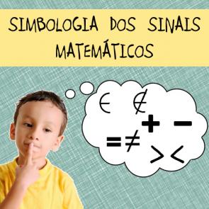 Simbologia dos sinais matemáticos