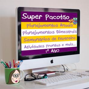 Super Pacotão: Planejamentos, semanário de fevereiro e atividades para o mês todo! - PRIMEIRO  ANO