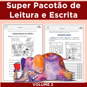 Super Pacotão de Leitura e Escrita 2