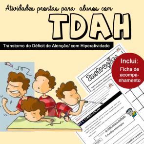 Atividades prontas para alunos com TDA/H