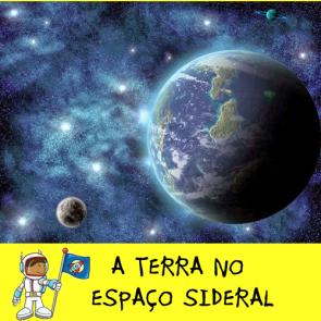 A Terra no espaço sideral