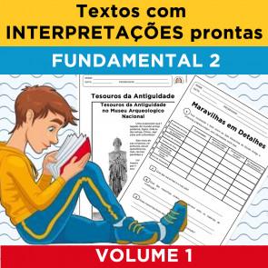 Textos com Interpretações Prontas - Volume 1