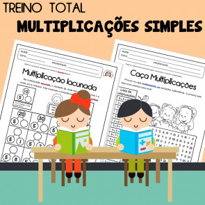 Treino Total - Multiplicações Simples