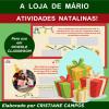 A Loja de Mário - Atividades Natalinas - para Google Classroom