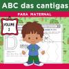 ABC das Cantigas - Volume 2 - para MATERNAL