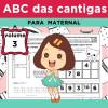 ABC das Cantigas - Volume 3 - para MATERNAL