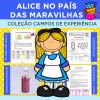 Alice no País das Maravilhas - Coleção CAMPOS DE EXPERIÊNCIA