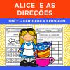 Alice e as Direções - BNCC