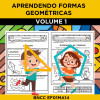 Aprendendo FORMAS GEOMÉTRICAS - Volume 1