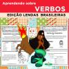 Aprendendo sobre VERBOS - Edição LENDAS BRASILEIRAS