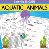 Learning English - AQUATIC ANIMALS