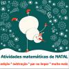 Atividades matemáticas de Natal