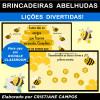 Brincadeiras Abelhudas - para uso em GOOGLE CLASSROOM