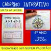 Caderno Interativo - 4º ano - VOLTA ÀS AULAS