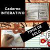 Caderno Interativo - TIPOS DE SOLO