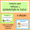 Cartazes para melhorar a interpretação