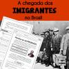 Chegada dos Imigrantes no BRASIL