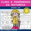 Clima e Fenômenos da Natureza - PRIMEIRO ANO