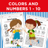 Colors and Numbers 1-10