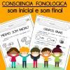 Consciência Fonológica - som inicial e som final