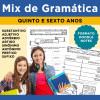 Mix de Gramática - Classes Gramaticais, Sinônimos, Antônimos, Prefixos e Sufixos - DOODLE NOTES