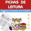 Fichas de leitura - vogais