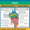 Índio - alfabetização e matemática
