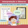Interpretação e Gêneros - Atividades em folha e em caderno interativo - volume 2