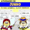 Atividades de JUNHO com Alfabeta e Numeraldo