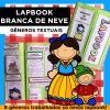 Lapbook BRANCA DE NEVE - Gêneros Textuais