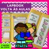 Lapbook - VOLTA ÀS AULAS - MODELO 2 - Alfabetização