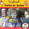 Lapbook VOLTA ÀS AULAS - MODELO 5 - 1º, 2º e 3º ANOS