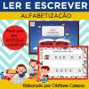 LER E ESCREVER - Alfabetização - para Google Classroom